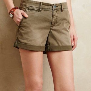 Pilcro and the Letterpress Hyphen Fit Khaki Shorts